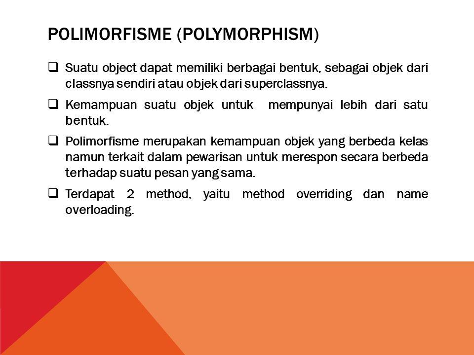 Polimorfisme (Polymorphism)