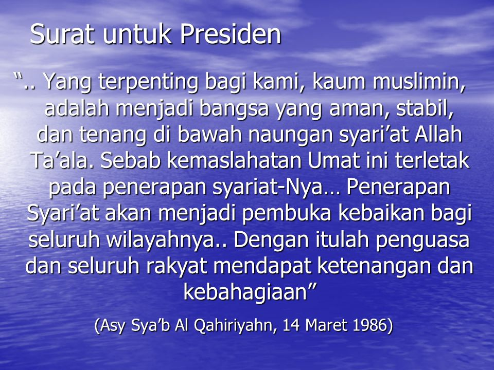 (Asy Sya'b Al Qahiriyahn, 14 Maret 1986)