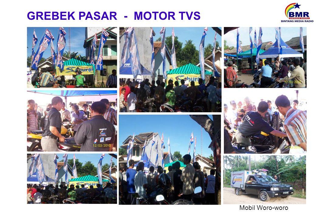 GREBEK PASAR - MOTOR TVS