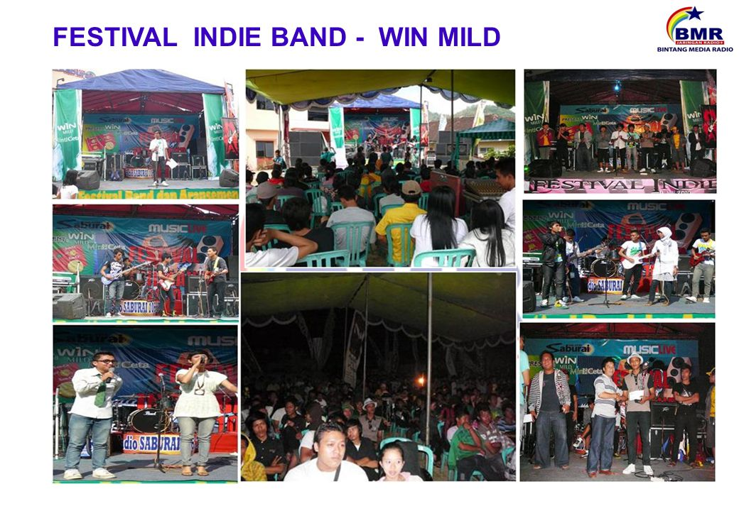 FESTIVAL INDIE BAND - WIN MILD