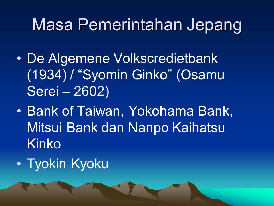 Masa Pemerintahan Jepang