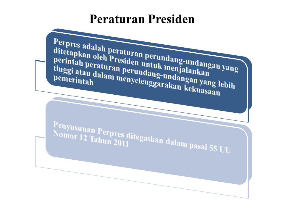 Peraturan Presiden