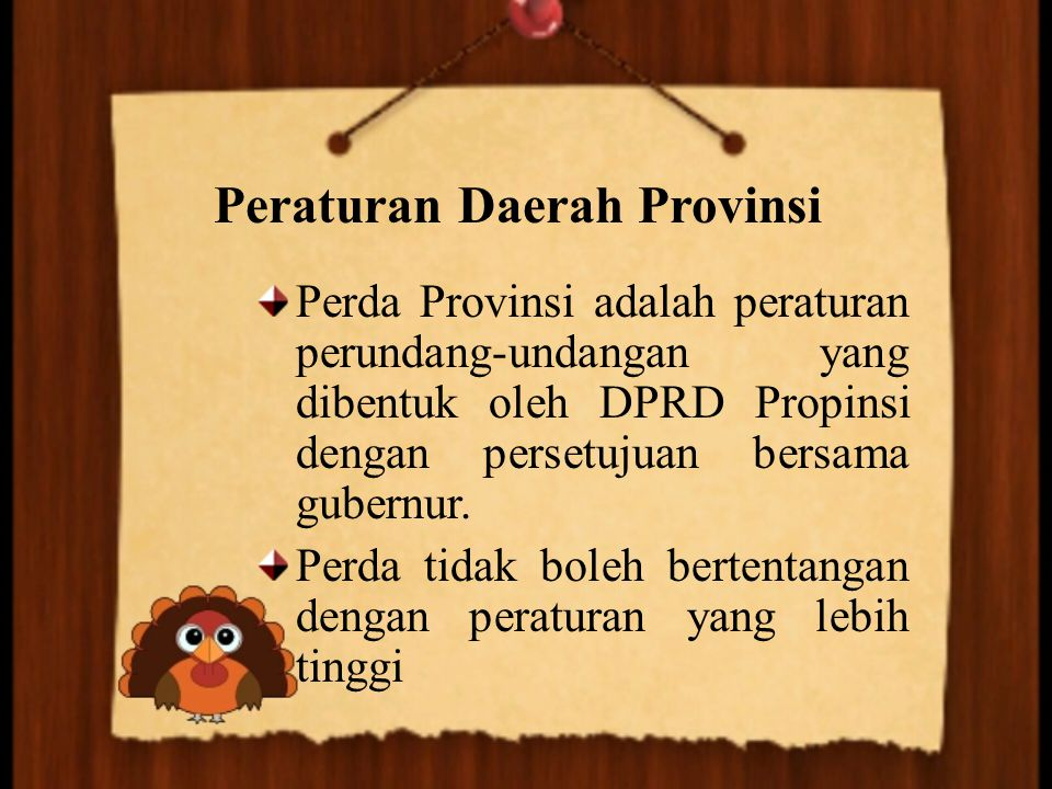 Peraturan Daerah Provinsi