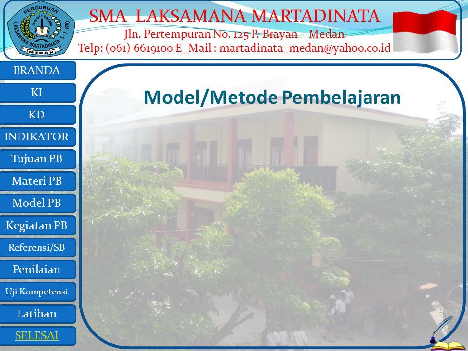 Model/Metode Pembelajaran
