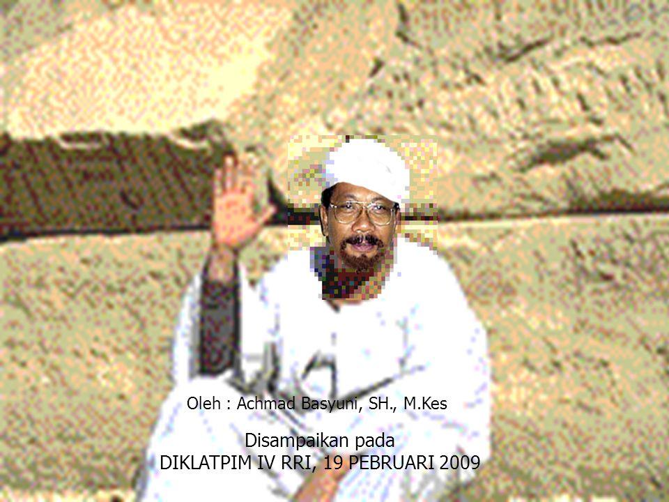 DIKLATPIM IV RRI, 19 PEBRUARI 2009