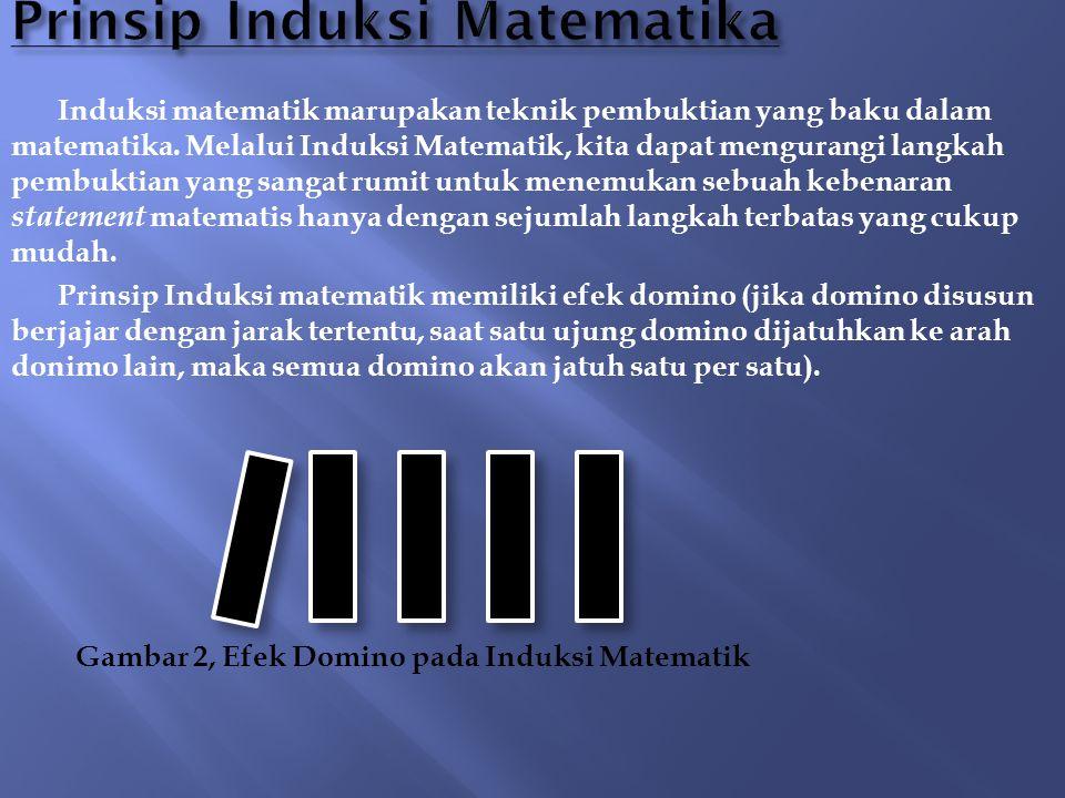 Prinsip Induksi Matematika