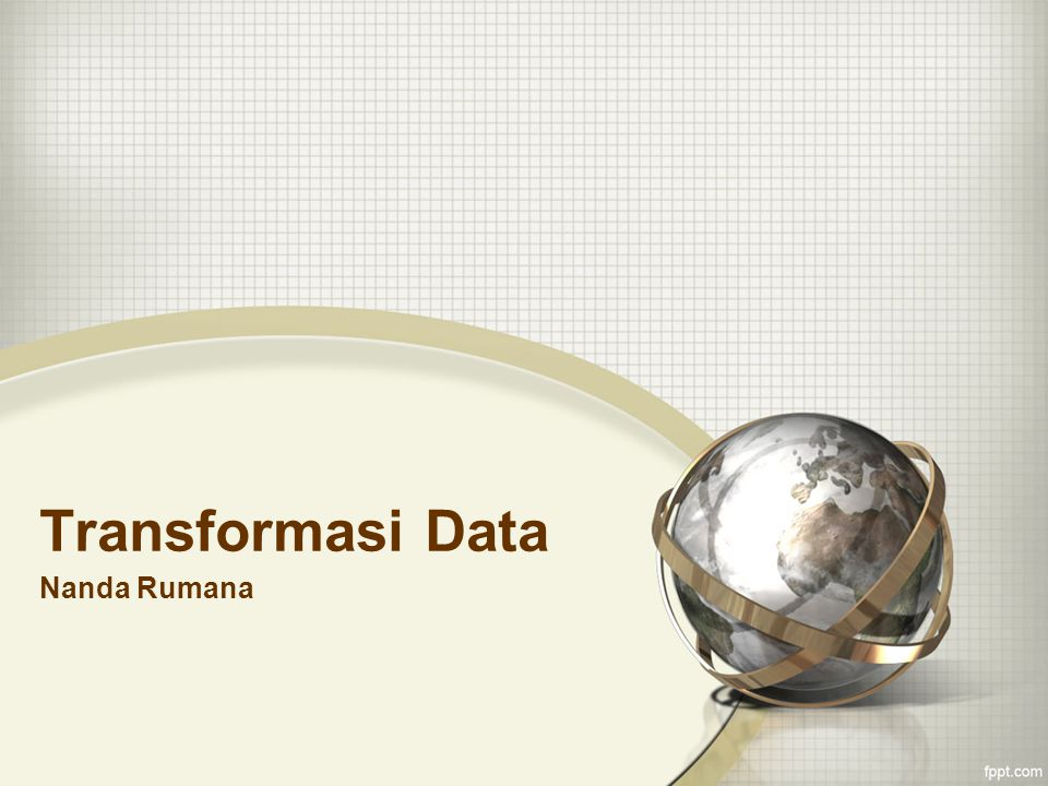 Transformasi Data Nanda Rumana