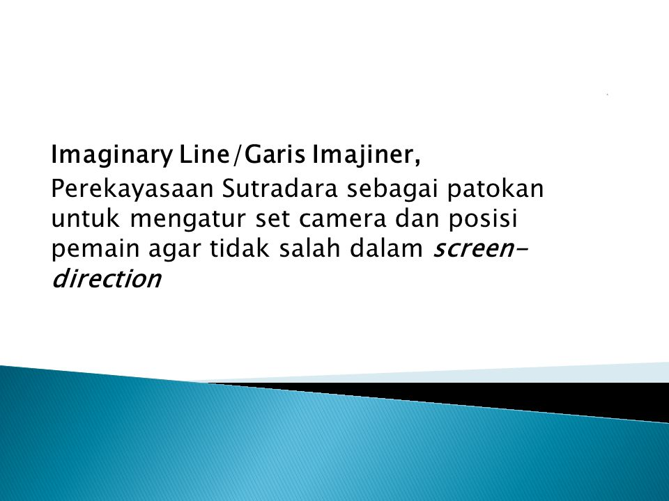 Imaginary Line/Garis Imajiner,