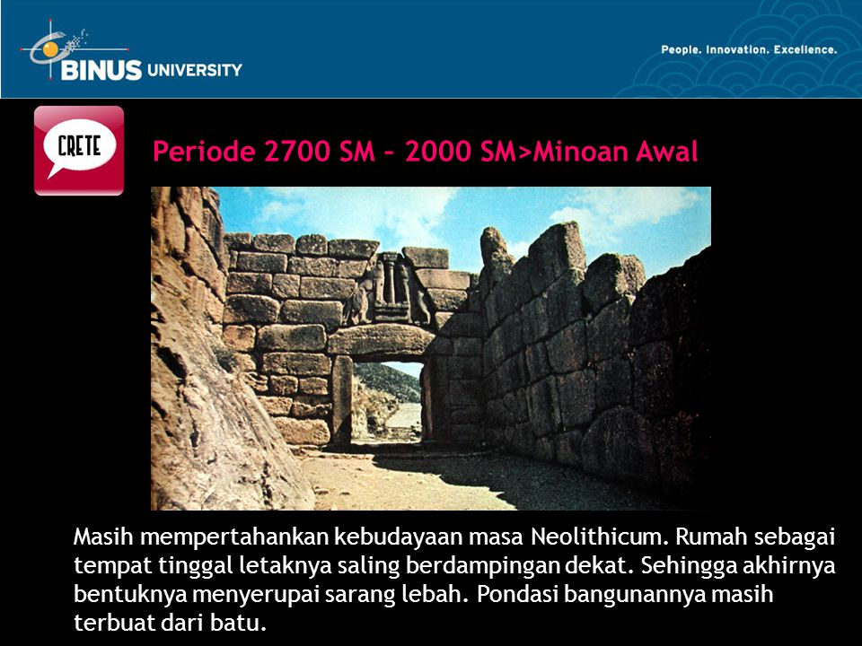 Periode 2700 SM – 2000 SM>Minoan Awal