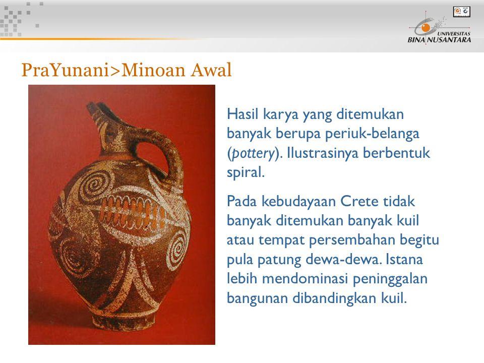 PraYunani>Minoan Awal