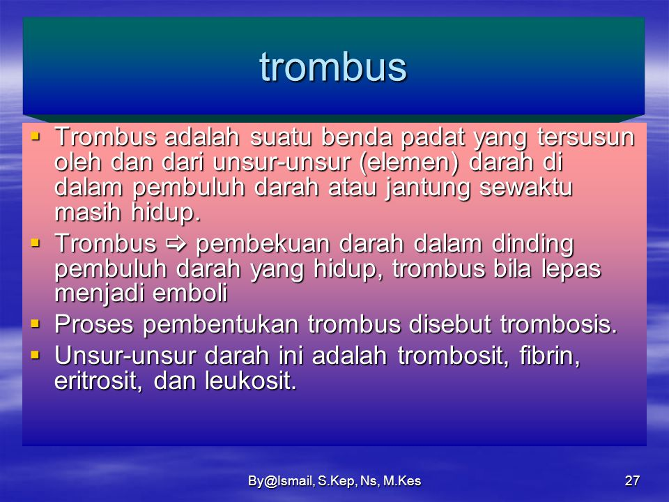 trombus