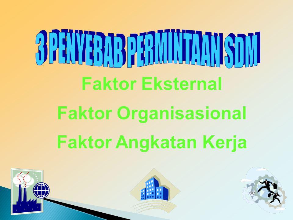 Faktor Organisasional