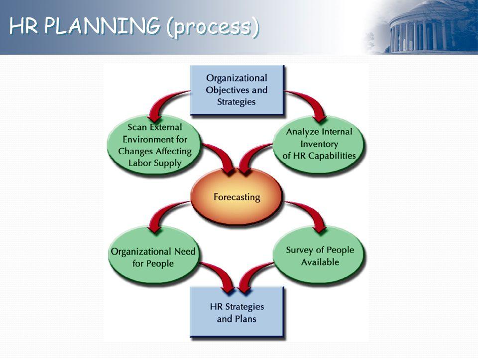 HR PLANNING (process)