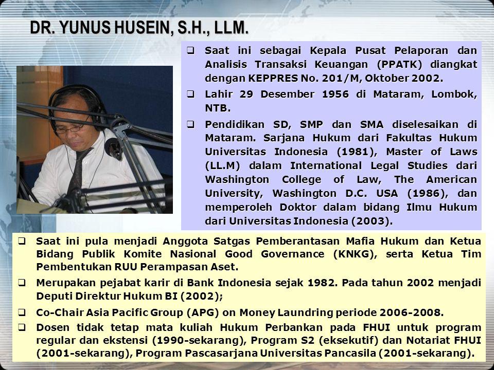 DR. YUNUS HUSEIN, S.H., LLM. 4/13/2017.