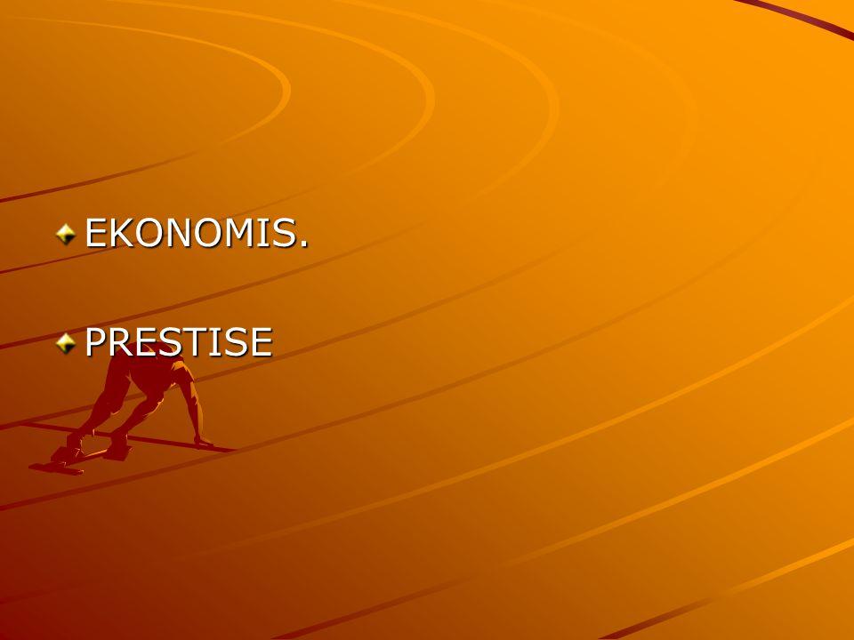 EKONOMIS. PRESTISE