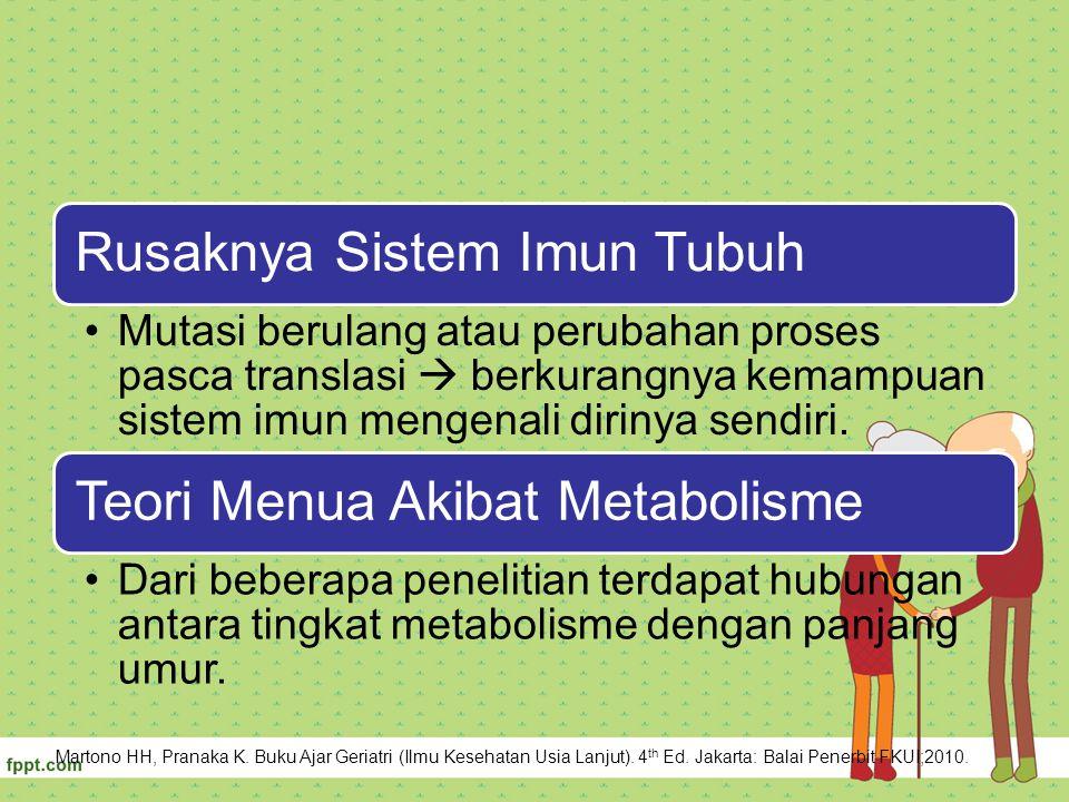 Rusaknya Sistem Imun Tubuh
