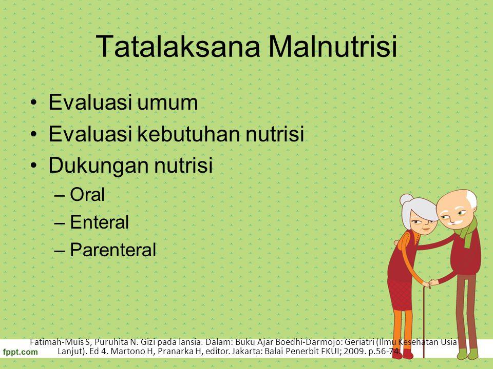 Tatalaksana Malnutrisi