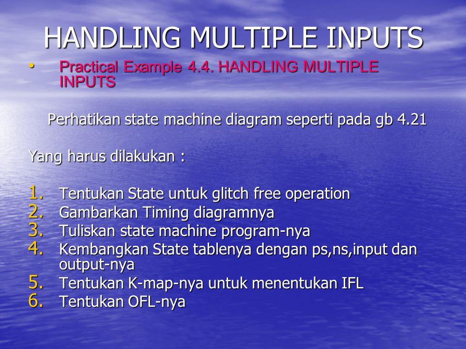 HANDLING MULTIPLE INPUTS