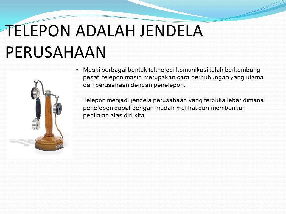 TELEPON ADALAH JENDELA PERUSAHAAN