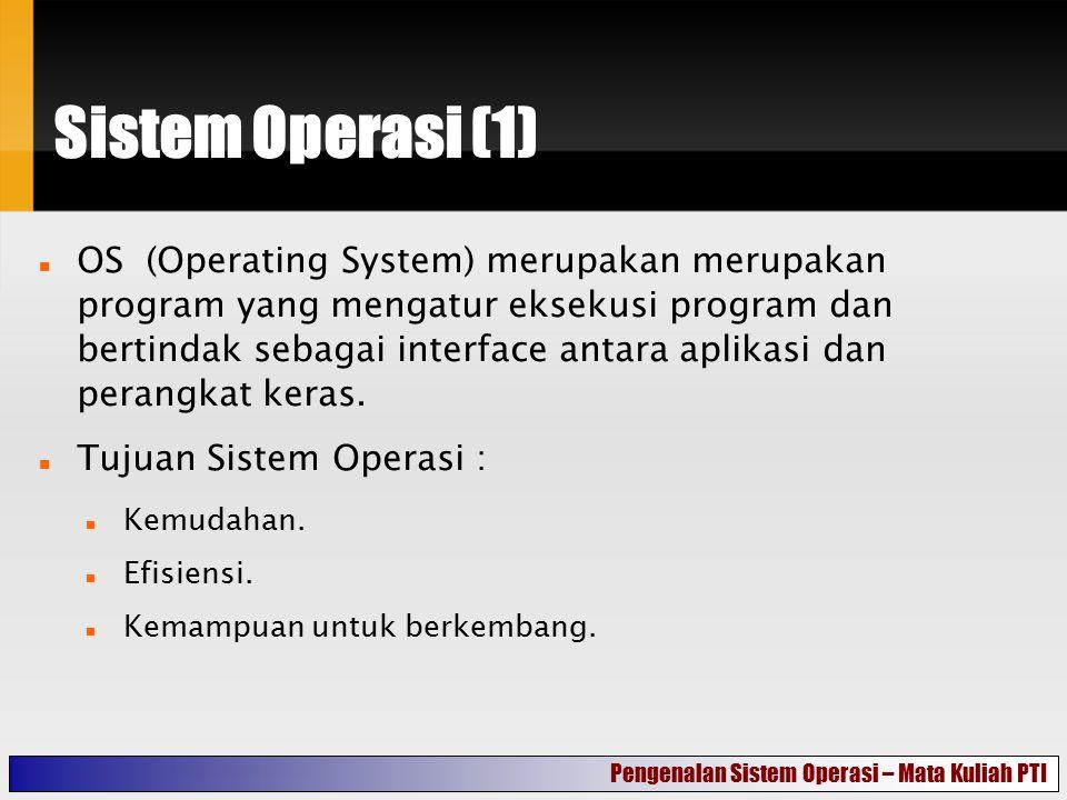Sistem Operasi (1)