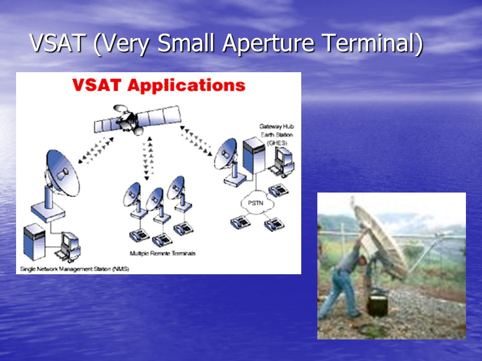 VSAT (Very Small Aperture Terminal)