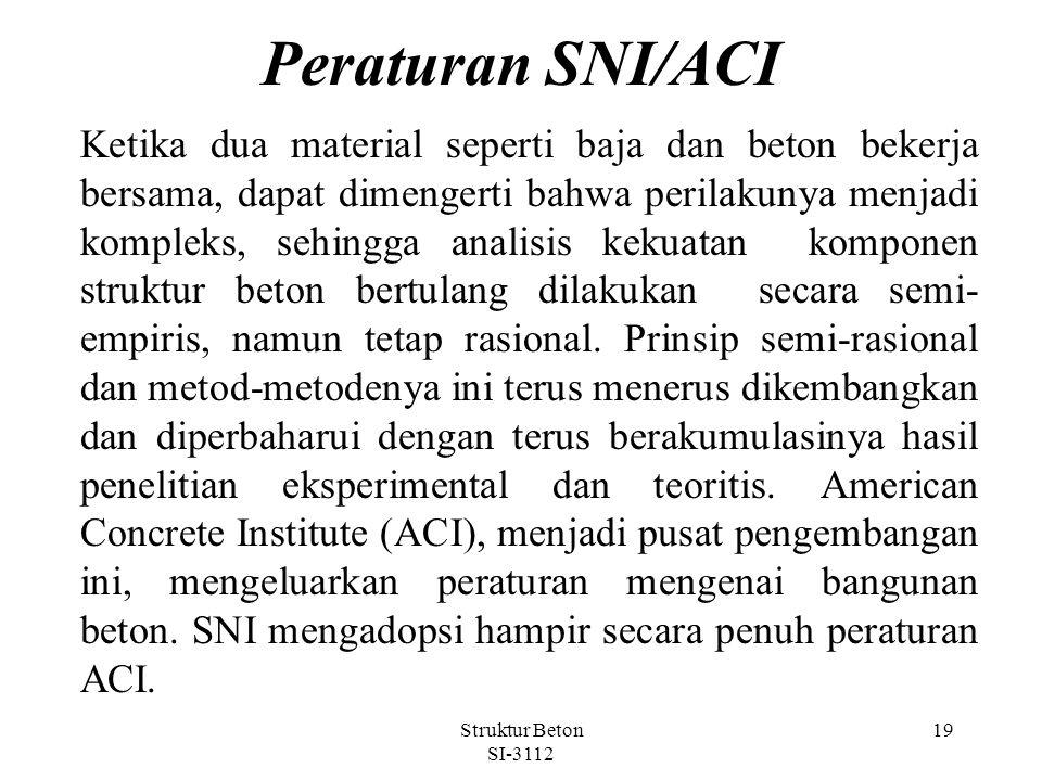 Peraturan SNI/ACI