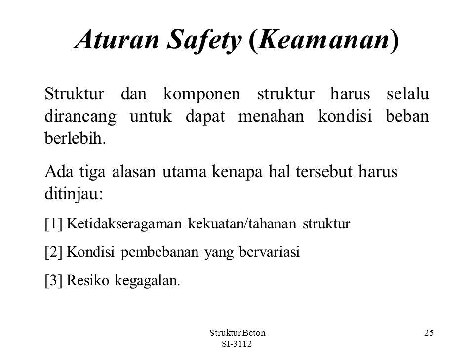 Aturan Safety (Keamanan)