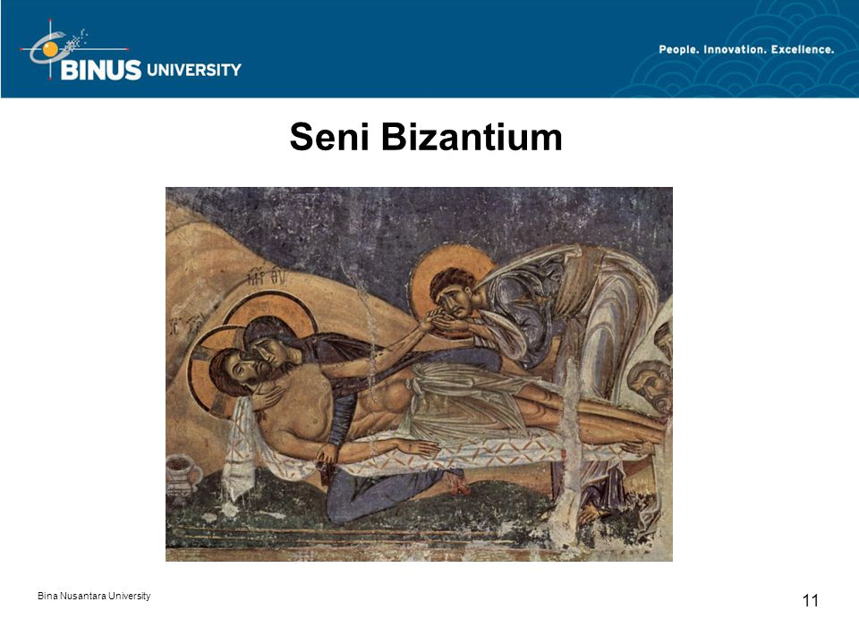 Seni Bizantium Bina Nusantara University