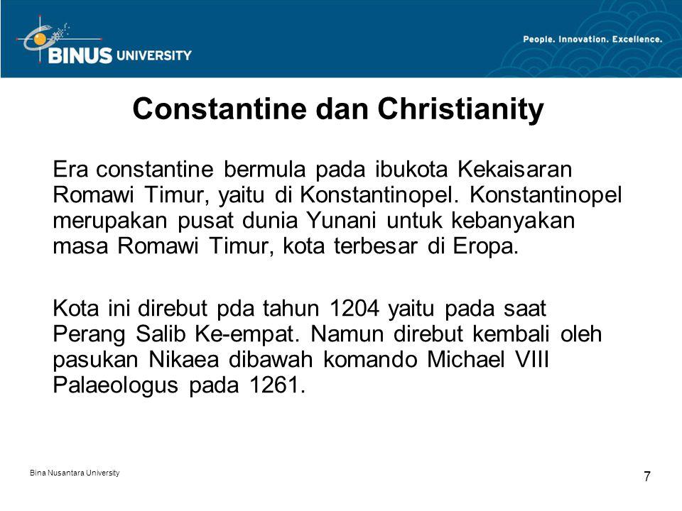 Constantine dan Christianity