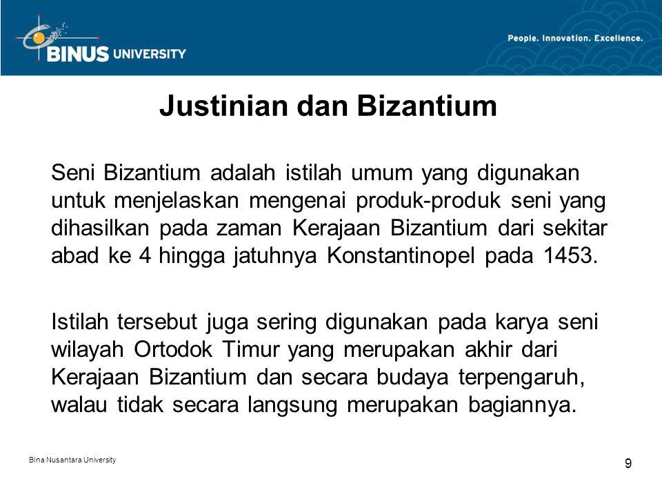 Justinian dan Bizantium