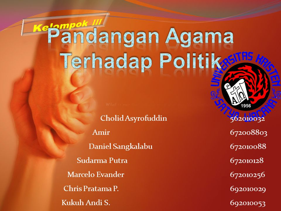 Pandangan Agama Terhadap Politik