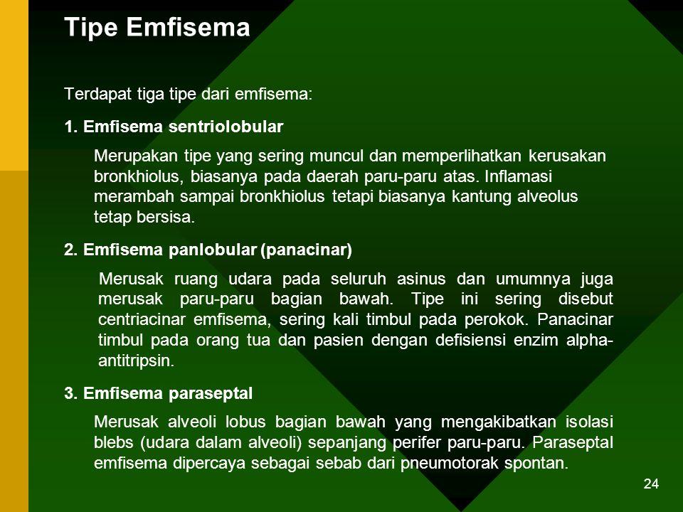 Tipe Emfisema
