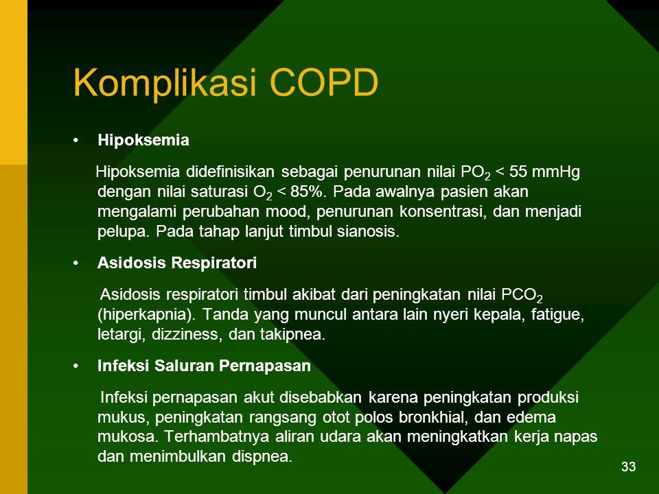 Komplikasi COPD Hipoksemia
