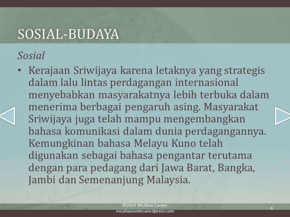 Sosial-budaya Sosial.