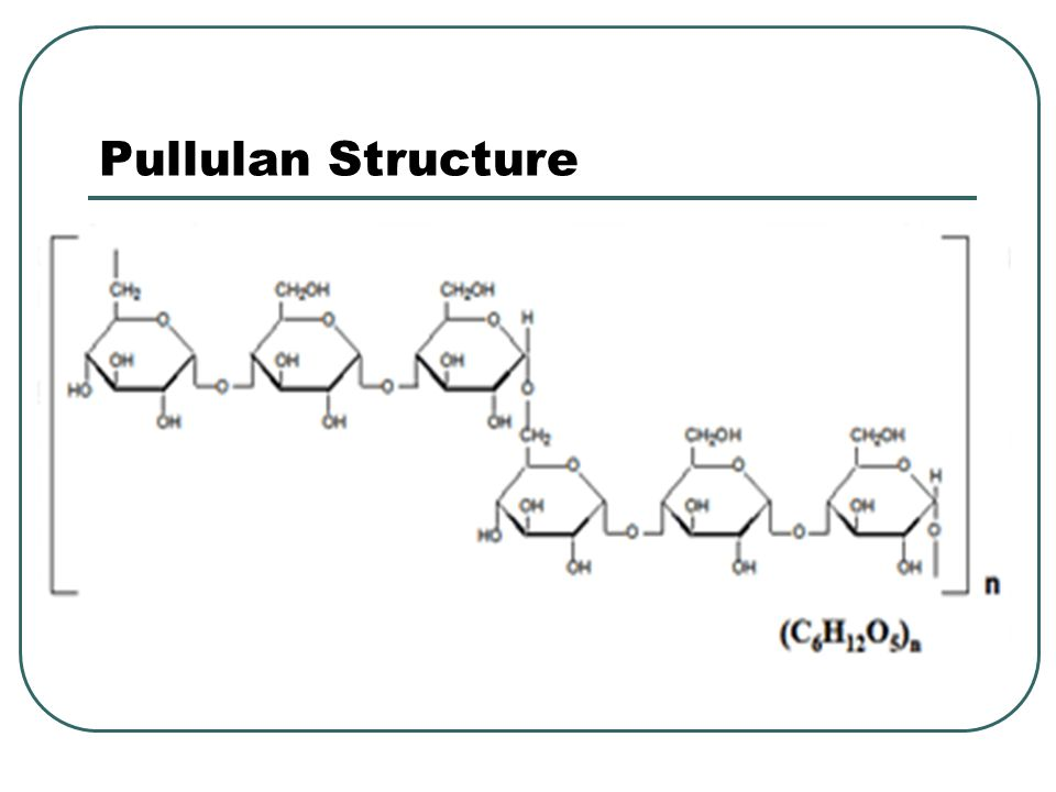 Pullulan Structure