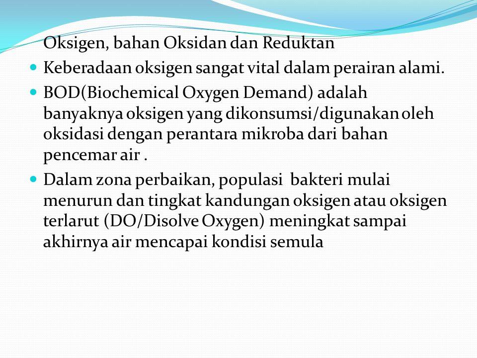 Oksigen, bahan Oksidan dan Reduktan
