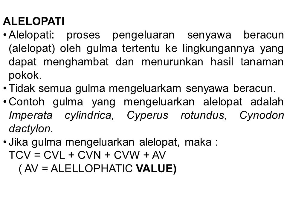 ALELOPATI