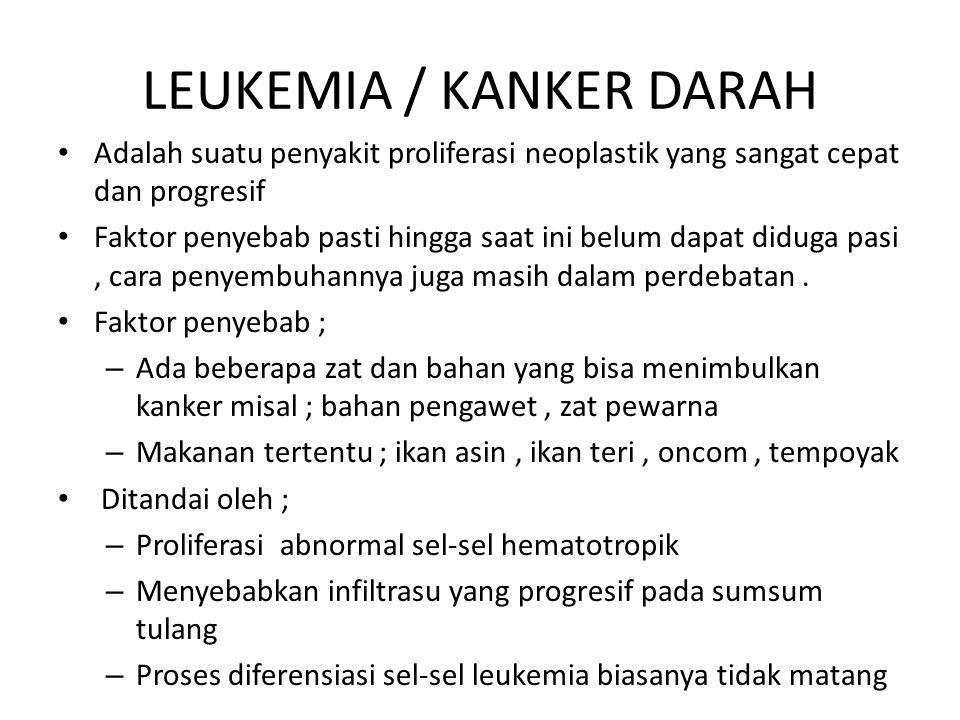 LEUKEMIA / KANKER DARAH