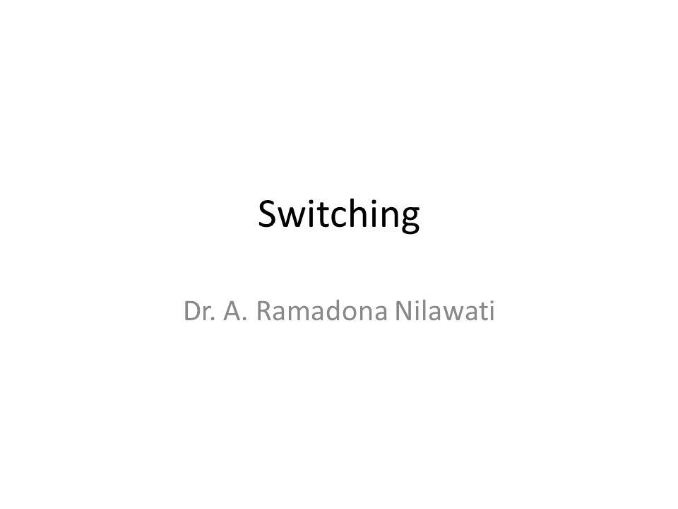 Switching Dr. A. Ramadona Nilawati