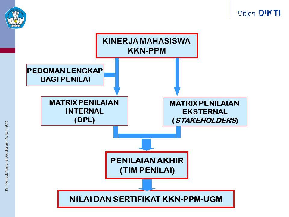 NILAI DAN SERTIFIKAT KKN-PPM-UGM