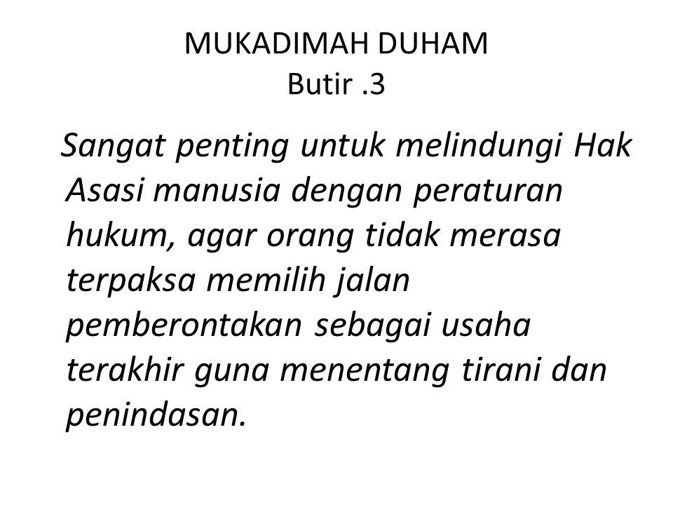 MUKADIMAH DUHAM Butir .3