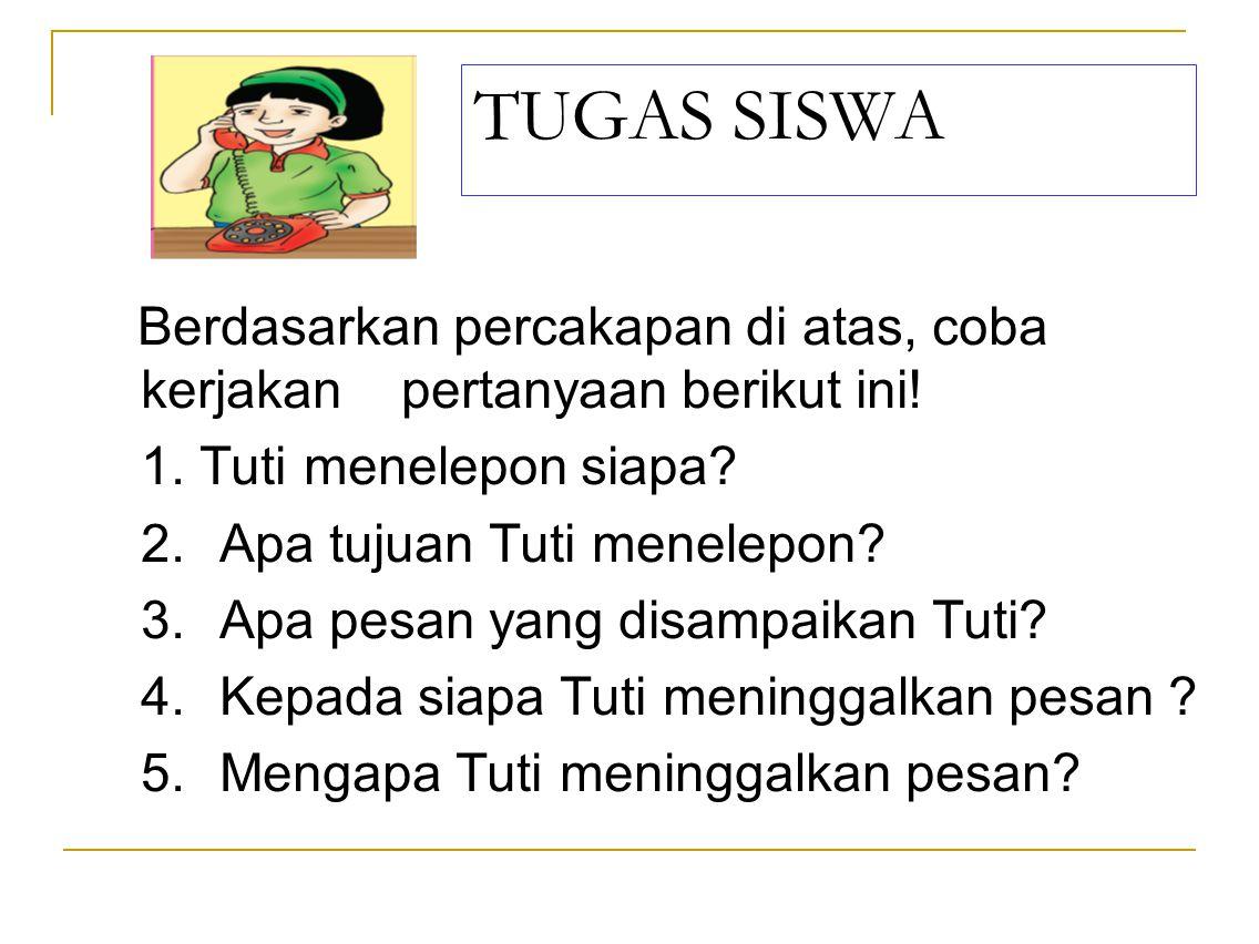 TUGAS SISWA