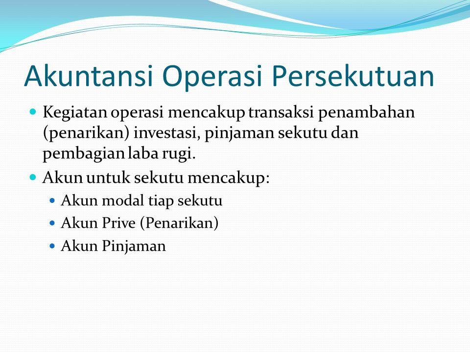Akuntansi Operasi Persekutuan