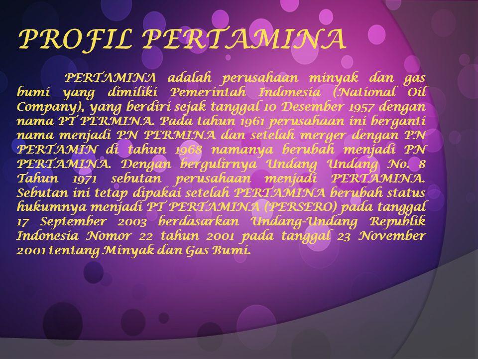 PROFIL PERTAMINA