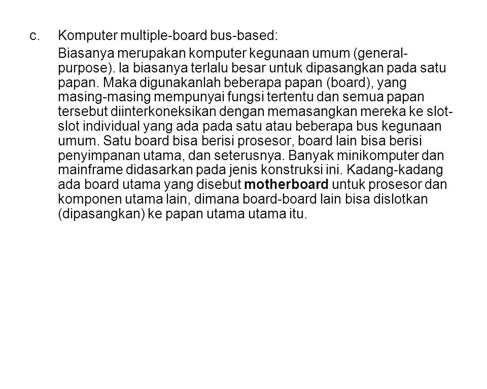 Komputer multiple-board bus-based: