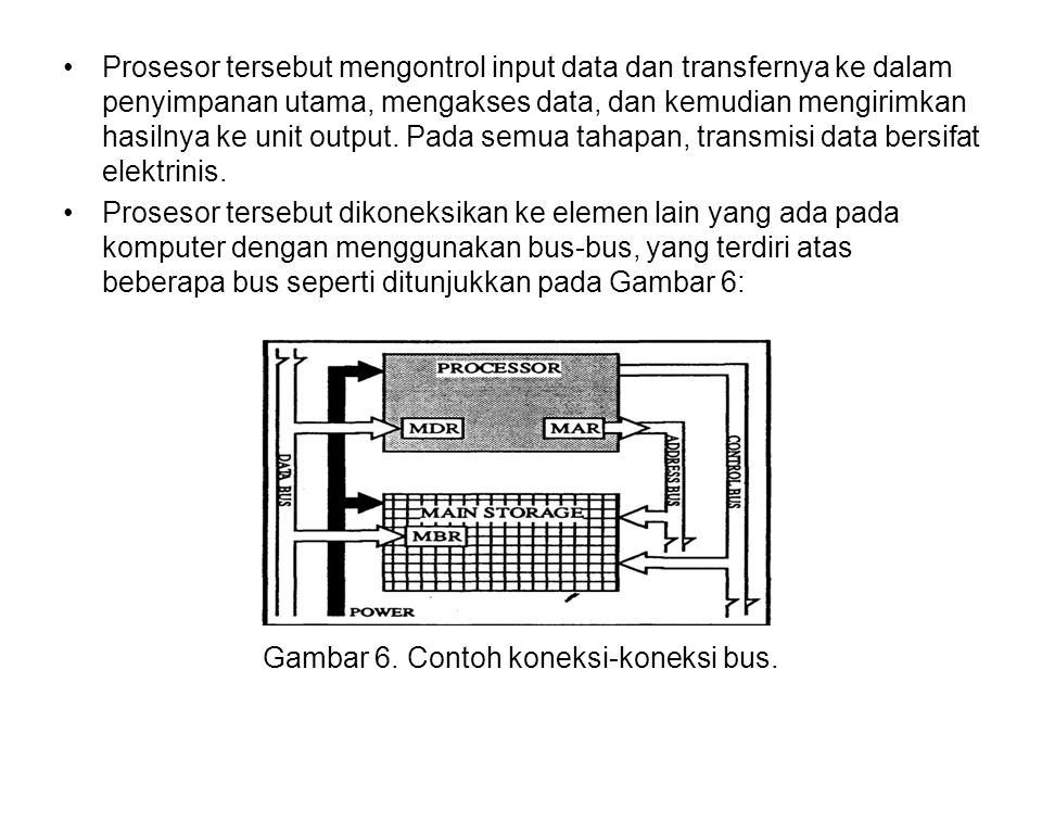 Gambar 6. Contoh koneksi-koneksi bus.