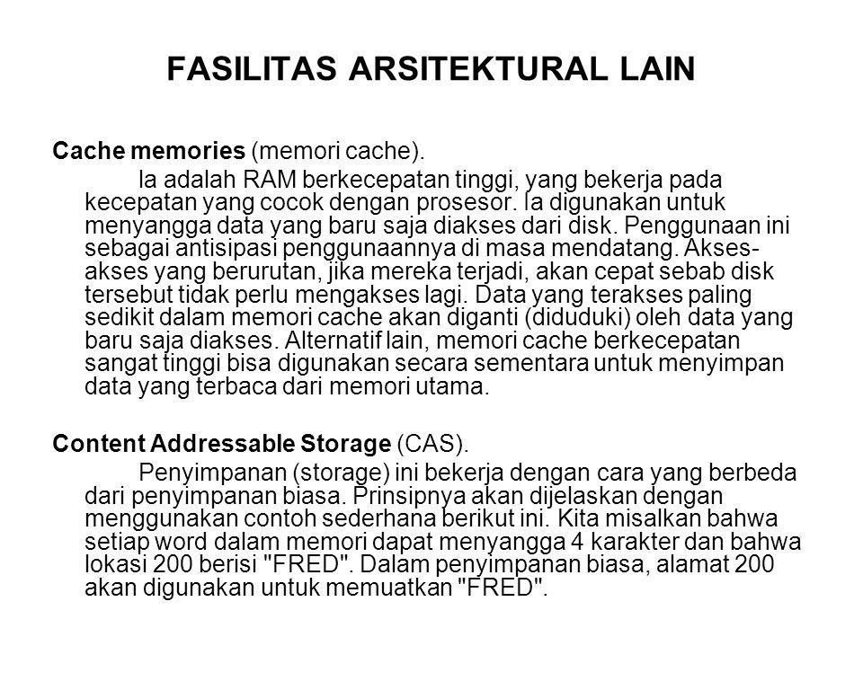 FASILITAS ARSITEKTURAL LAIN