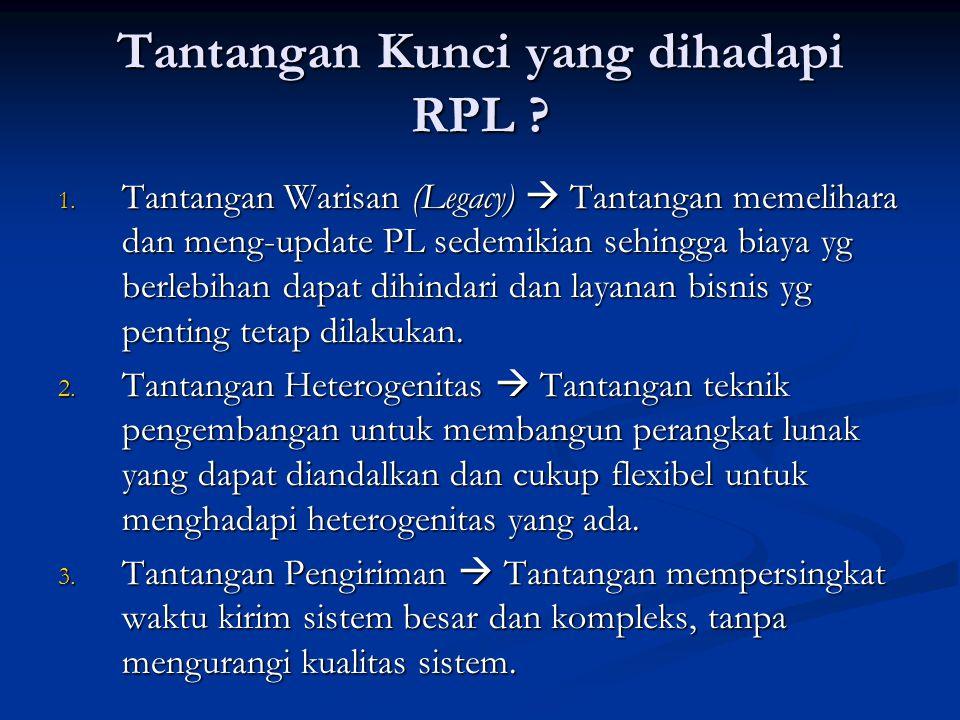 Tantangan Kunci yang dihadapi RPL