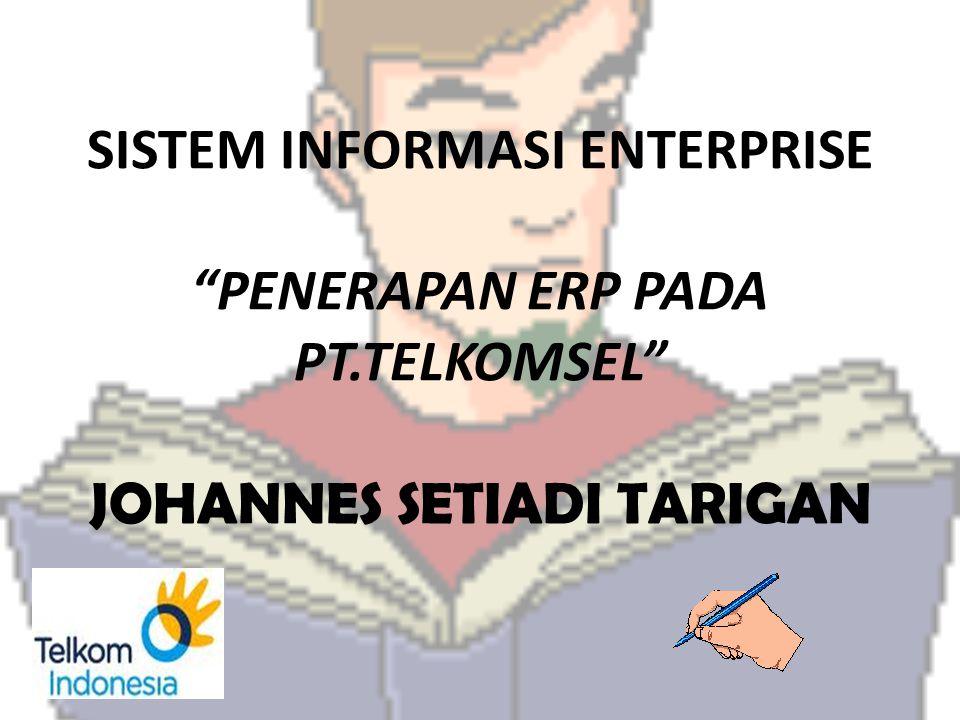SISTEM INFORMASI ENTERPRISE PENERAPAN ERP PADA PT