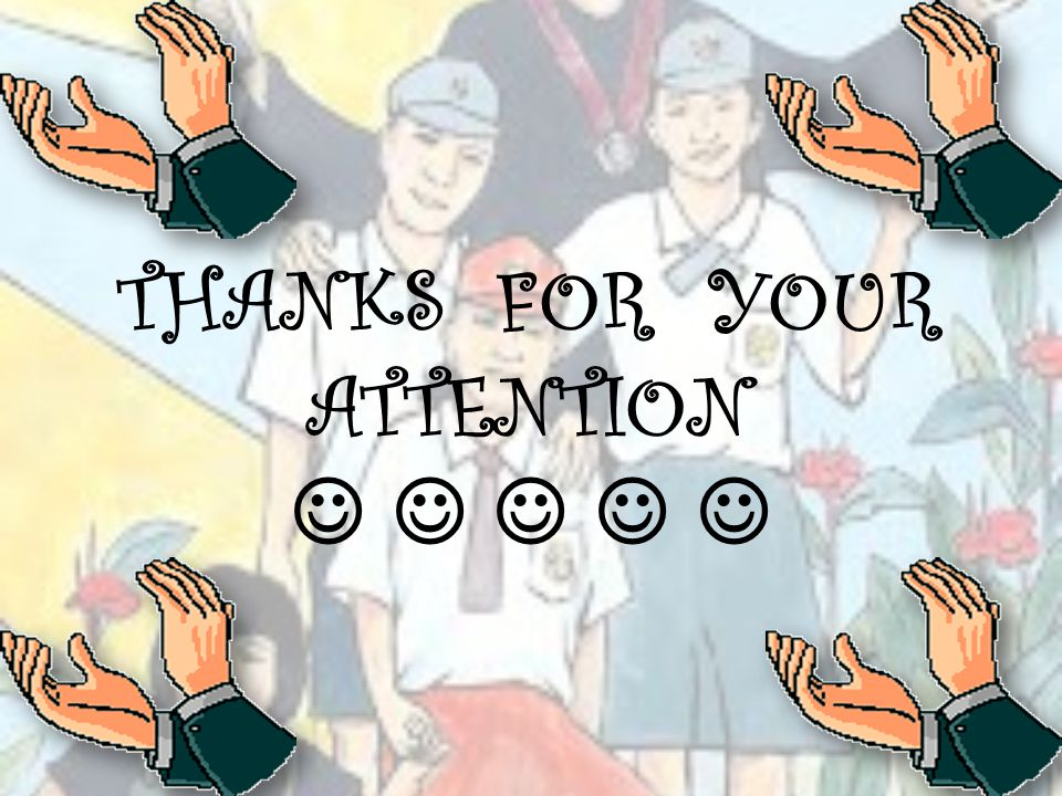 THANKS FOR YOUR ATTENTION     